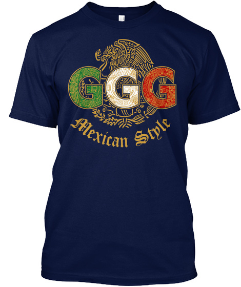 ggg mexican stylet shirt from golovkin triple g boxing