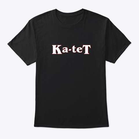 Ka Tet Black T-Shirt Front