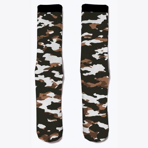 Military Camouflage   Arid Desert Viii Standard T-Shirt Front