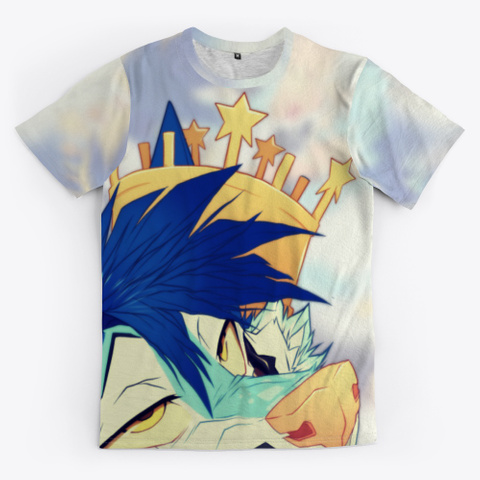 King Collection || All Over Print Tee Standard T-Shirt Front