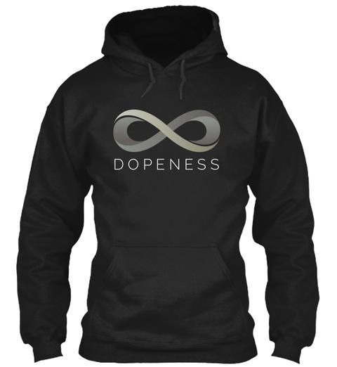 Dopeness Black T-Shirt Front