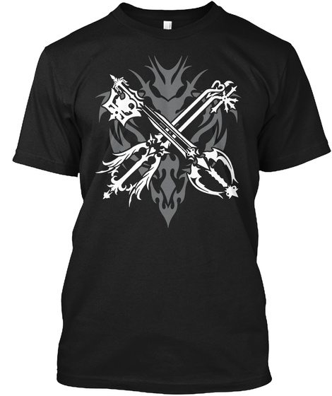 Limited T Shirt And Hoodie  Black T-Shirt Front