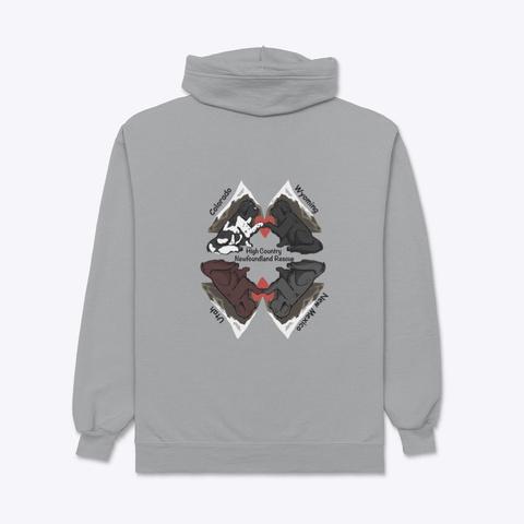 Hcnr Winter/Spring 2020 21 Light Steel T-Shirt Back