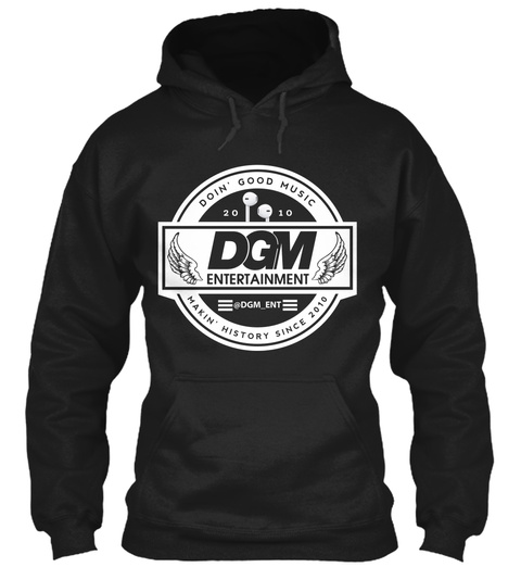 Dgm 2017 Logo Wings Black Suéter Front