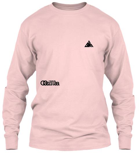 Quilla Qilla Light Pink T-Shirt Front