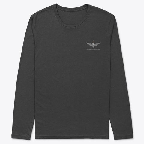 "Pdc Long Sleeve ""Dive"" 2 Black T-Shirt Front"