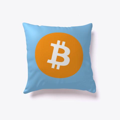 Bitcoin First Light Blue T-Shirt Front