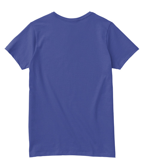 Peace Dreamer Deep Royal T-Shirt Back