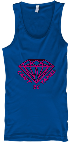 Tamed Can't Be Royal T-Shirt Front