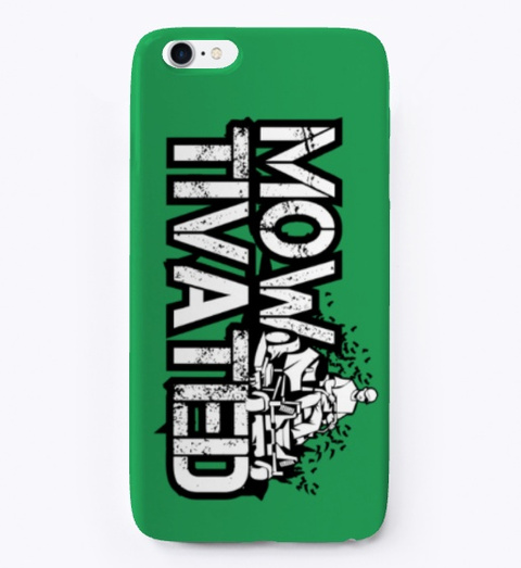 Mowtivated Phone Case Design! Green T-Shirt Front