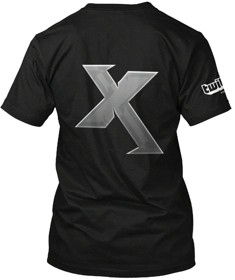 Exuhz Black T-Shirt Back