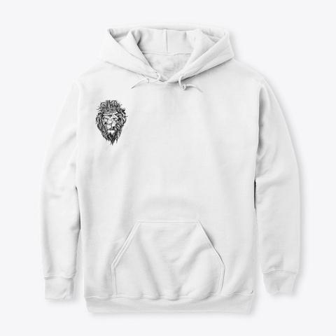 Black Lio N  1 White Sweatshirt Front