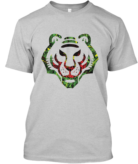 Royal Bengal Tiger T Shirt Light Steel T-Shirt Front