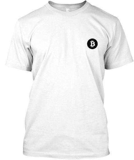 B White T-Shirt Front