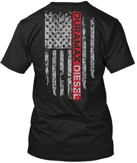 Duramax Diesel Black T-Shirt Back