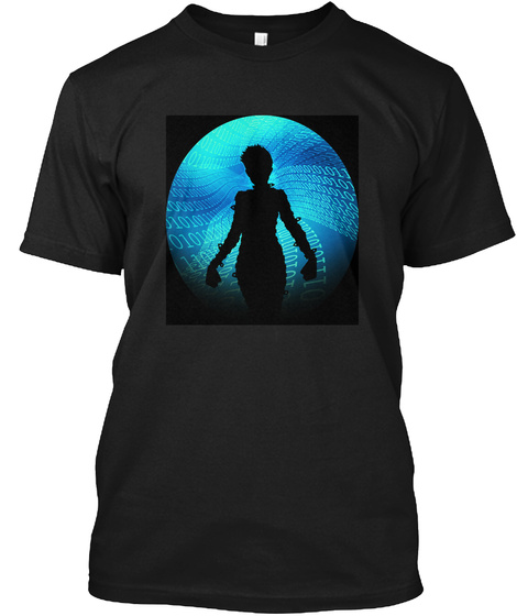Spawn Point Black T-Shirt Front