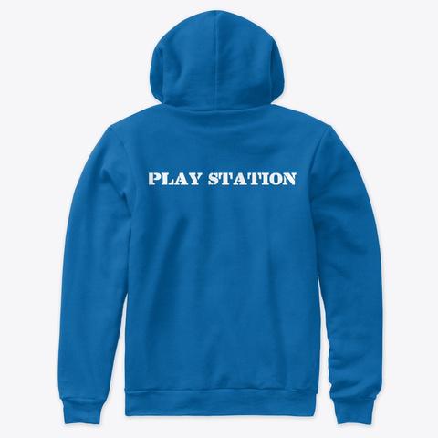 Play Station True Royal T-Shirt Back