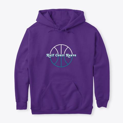 Half Court Heave  Purple T-Shirt Front