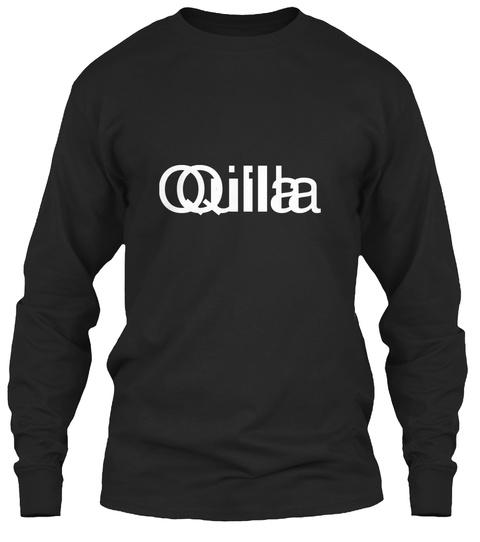 Quilla Qilla Black T-Shirt Front