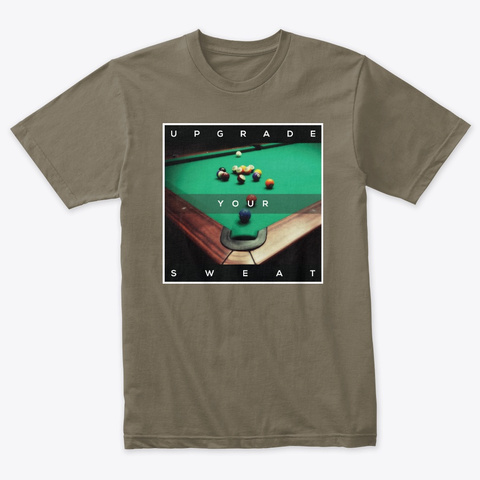Pov Pool: Upgrade Your Sweat Venetian Gray T-Shirt Front