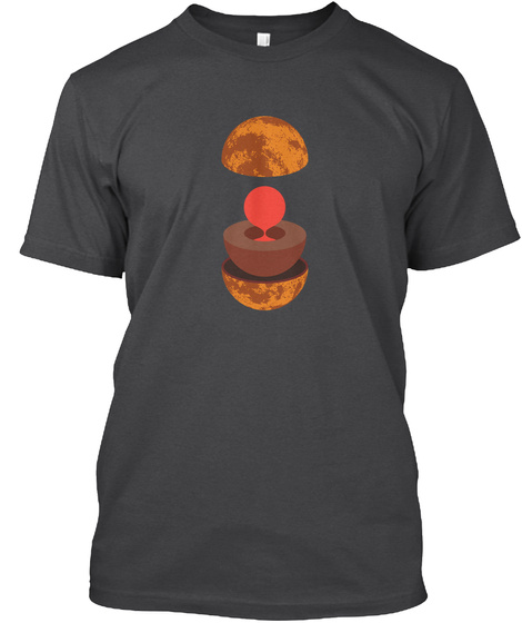 Layers Venus V [Int] #Sfsf Dark Grey Heather T-Shirt Front