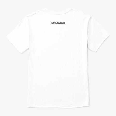 Llama Love White T-Shirt Back