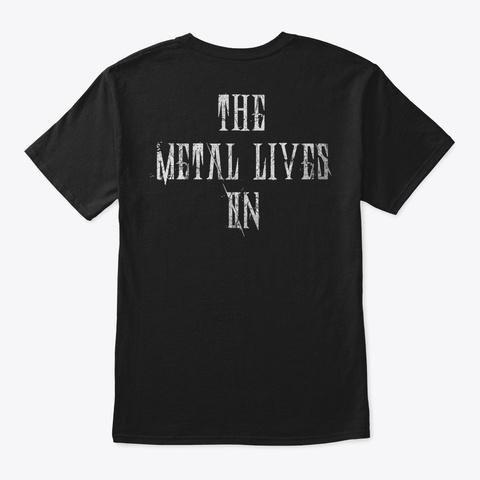 Changing Tymz Clockface T Shirt #1 Black T-Shirt Back