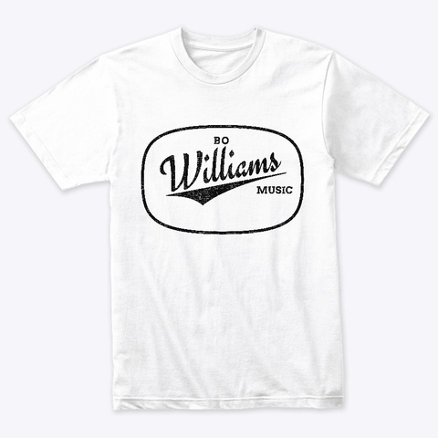 Bo Williams   The Start  Heather White T-Shirt Front