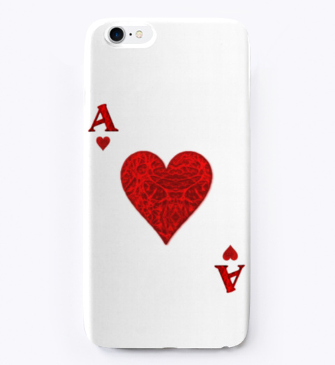 Ace Of Hearts Phone Cover. Standard T-Shirt Front