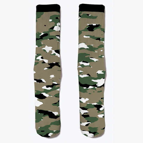 Military Camouflage   Woodland V Standard T-Shirt Front