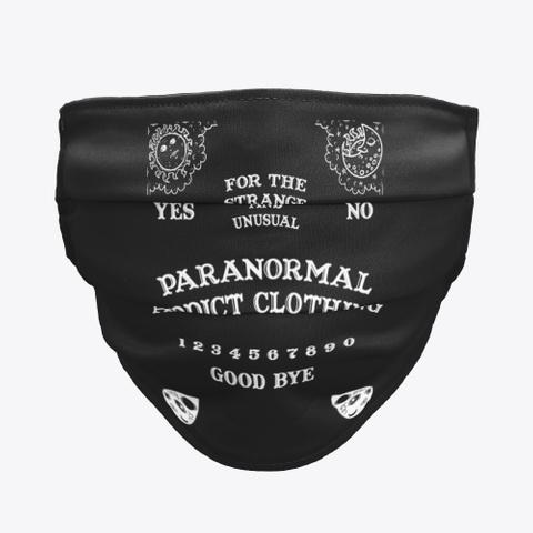 Paranormal Addict Spirit Board Black T-Shirt Front