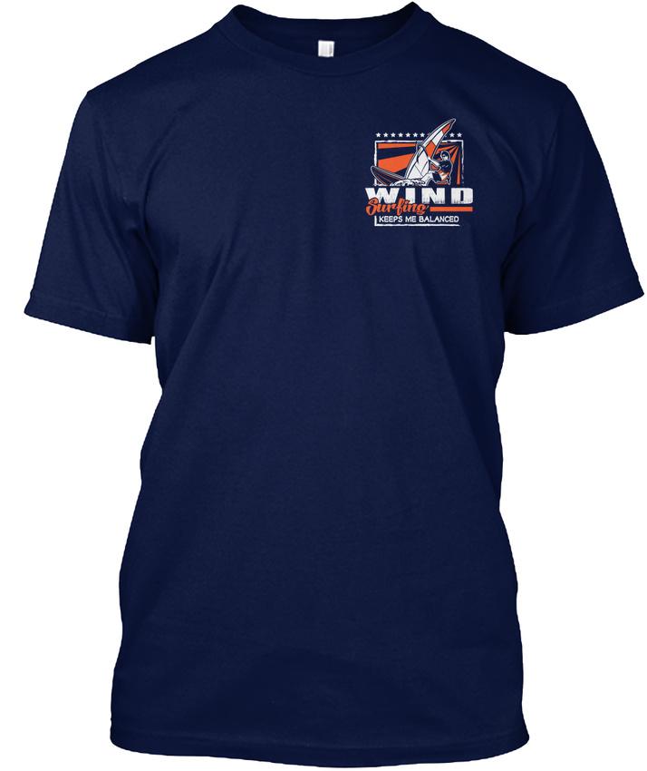 Windsurf-Hanes-Tagless-Tee-T-Shirt thumbnail 12