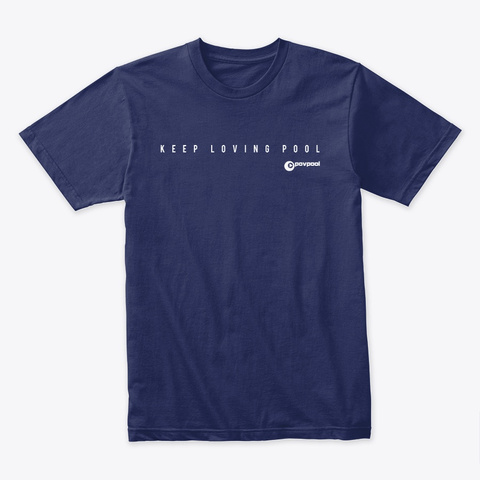 Pov 8 Midnight Navy Camiseta Front