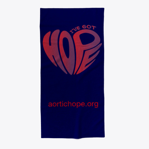 Got Hope Logo Dark Navy T-Shirt Front