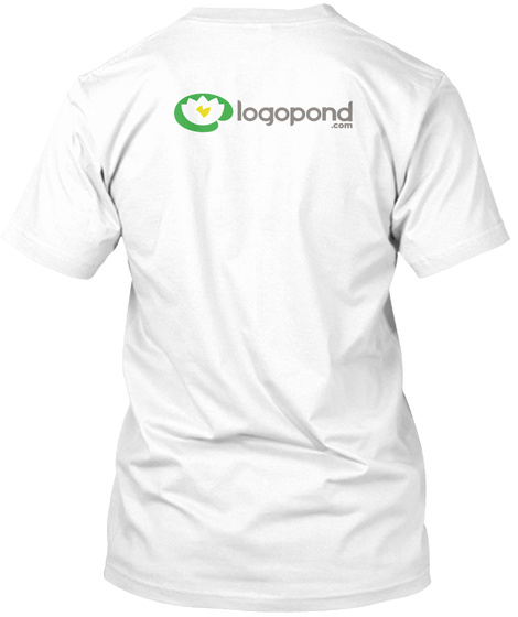 Logopond   Identity Inspiration White T-Shirt Back