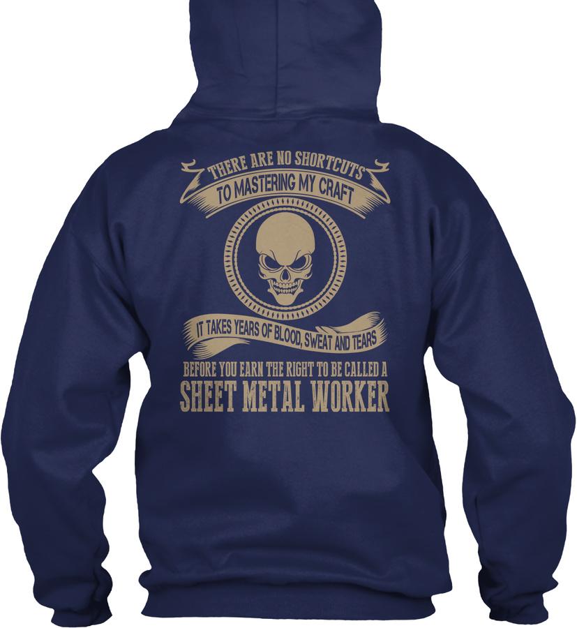[2 Hours Left]sheet Metal Worker T-shirt SweatShirt