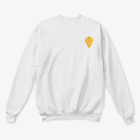 Vinerecordz Music White  T-Shirt Front