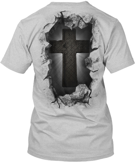Christian Breakthrough Light Steel T-Shirt Back