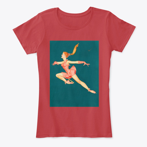 Ballet Classic Red T-Shirt Front