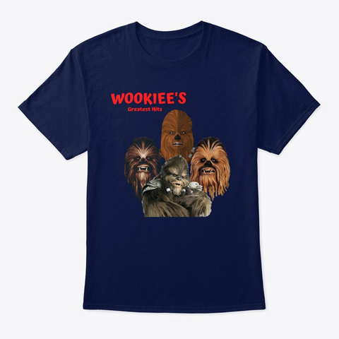 Wookiee's Greatest Hits Navy T-Shirt Front