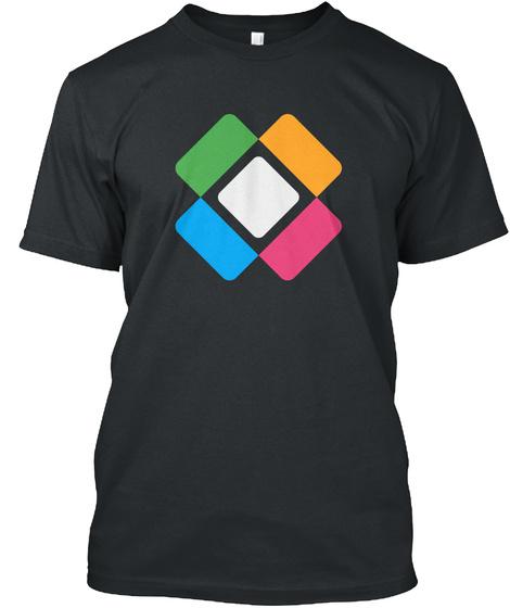 Logo Standard Eu Black T-Shirt Front