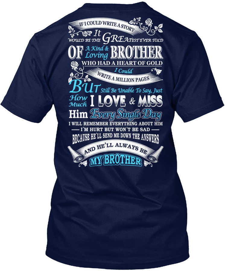 Hell Always Be My Brother Unisex Tshirt