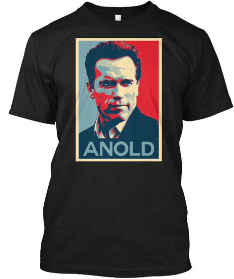 Anold Hope Poster Shirt Black T-Shirt Front