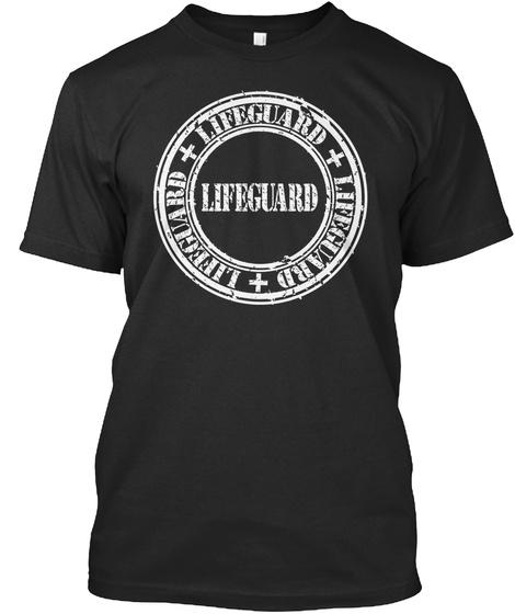 Lifeguard Lifeguard Lifeguard Lifeguard Black T-Shirt Front