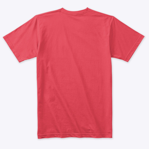 Podcast Logo (2 Point) Vintage Red T-Shirt Back