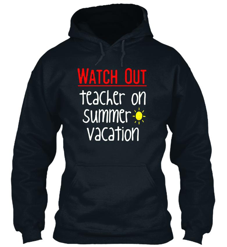 In-style-Teacher-On-Summer-Vacation-Bequemer-Bequemer-Kapuzenpullover