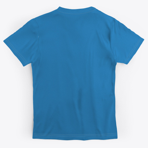 Greater Than You Thought Denim Blue T-Shirt Back