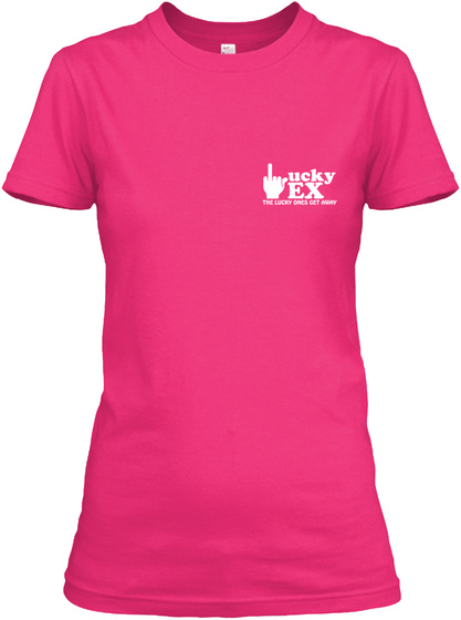 Lucky Ex Heliconia T-Shirt Front