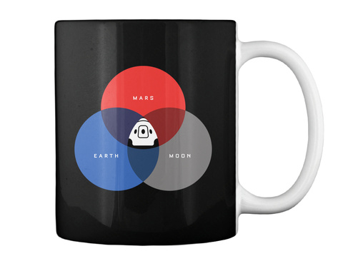 The Rgb Space Mug [Usa] #Sfsf Black Mug Back