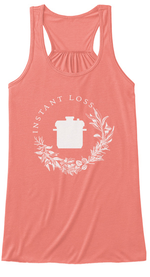 Instant Loss Coral Women's Tank Top Front